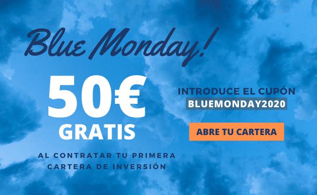 Promoción Blue Monday 2020